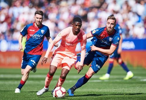 SD Huesca v FC Barcelona - La Liga