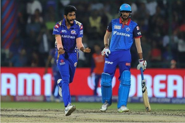 Jasprit Bumrah was lethal with his pace (Image courtesy: IPLT20/BCCI)