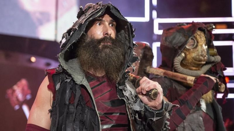 Luke Harper has been part of WWE