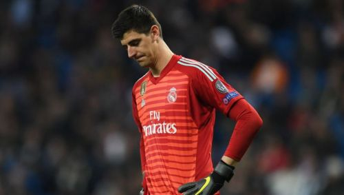 Thibaut Courtois has struggled this season