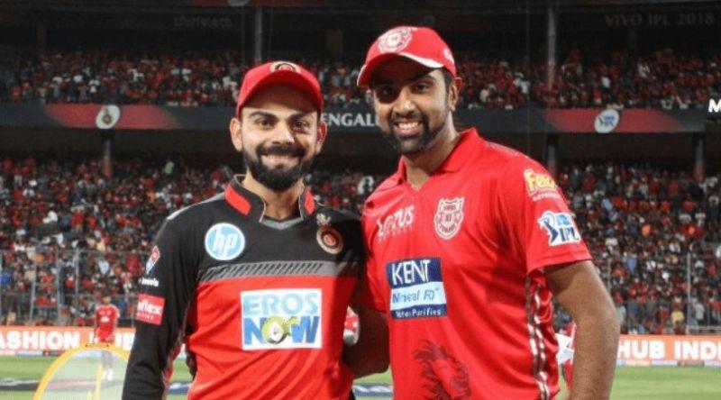 बैंगलोर और पंजाब की टीम के कप्तान