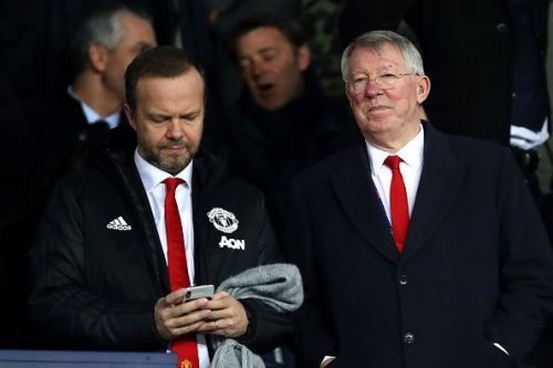 Ed Woodward (l) and Sir Alex Ferguson (r)