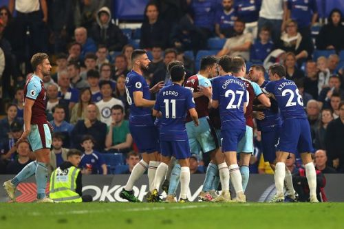 Chelsea once again dropped points on Monday night