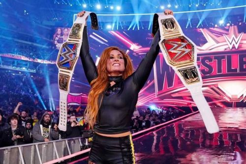 Becky Lynch won the Main Event at Wrestlemania 35