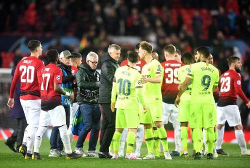 Manchester United suffered a 0-1 defeat to Barcelona at Old Trafford