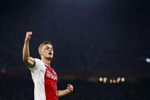 De Ligt has been linked with Barcelona and Juventus