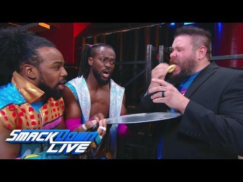 Kevin Owens is now a member of the New Day.