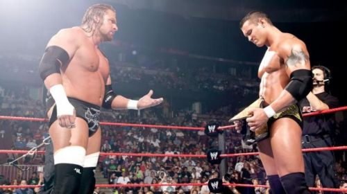 Triple H and Randy Orton have faced each other on numerous occasions