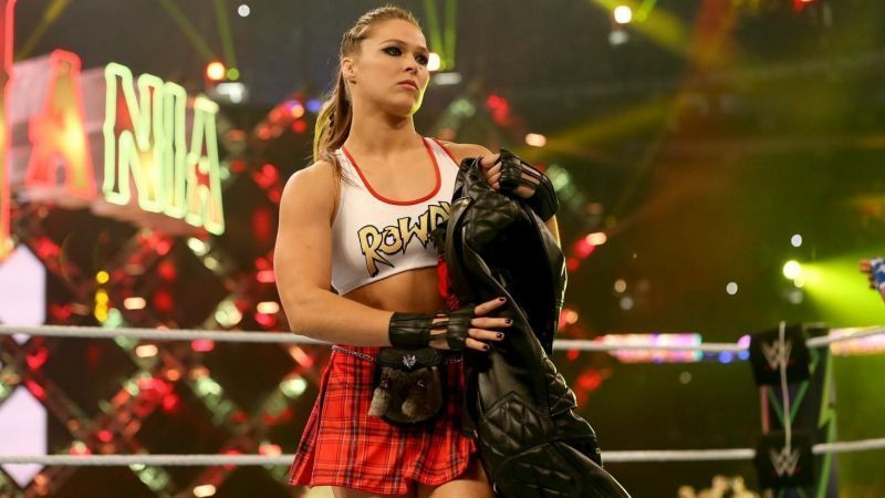 Ronda Rousey decided to stay on much longer than planned!