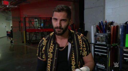 Ariya Daivari was one win away from a Cruiserweight Championship opportunity