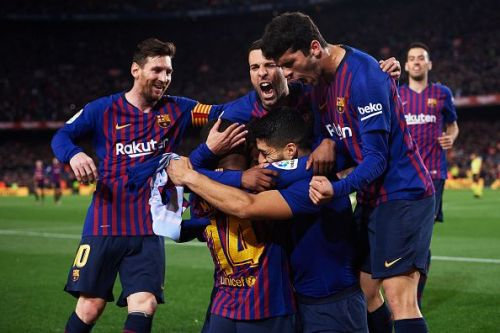 Barcelona would look to drive home their advantage
