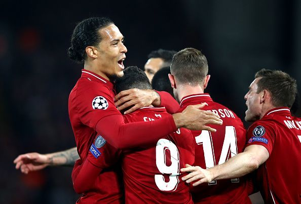 van Dijk has had a calming influence on Liverpool