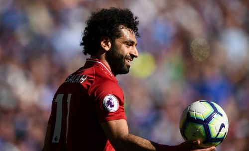 Mohamed Salah is the top goalscorer in the Premier League