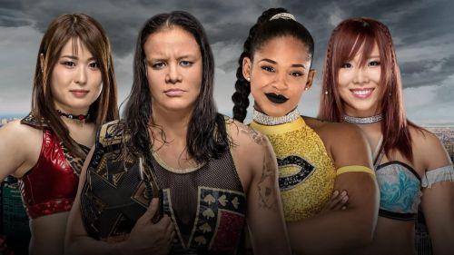 NXT Takeover: New York: NXT Women's Championship Match - Shayna Baszler vs Io Shirai vs Bianca BelAir vs Kairi Sane