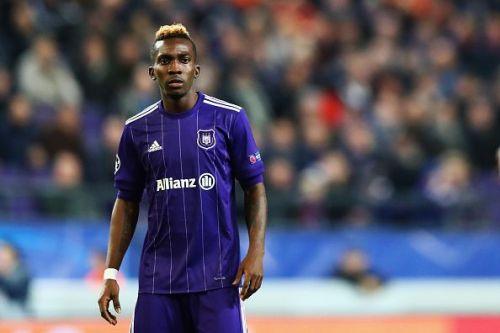 Henry Onyekuru on loan at Anderlecht