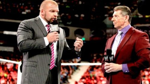 Triple H and Vince McMahon are the most powerful people in WWE