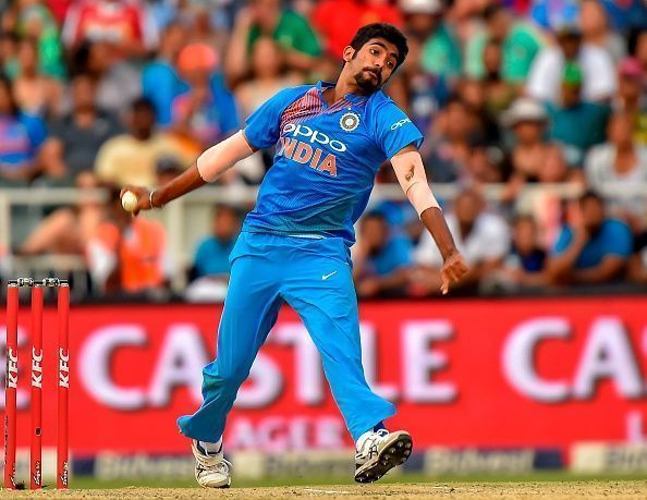 Jasprit Bumrah is brilliant with his yorkers at the death.