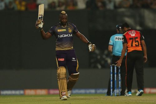 Andre Russell has been in sublime form for the Knight Riders