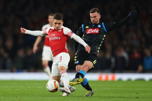 Torreira excelled against Napoli on Thursday, as he has done often in midfield for Arsenal this season