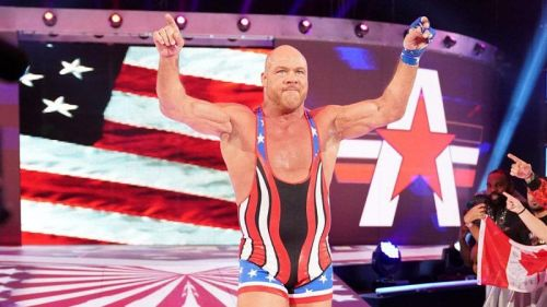 Kurt Angle's final match in the WWE will be against Baron Corbin at WrestleMania 35