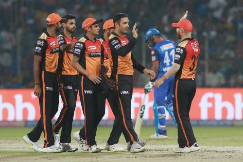 Sunrisers Hyderabad (Source - iplt20/BCCI)
