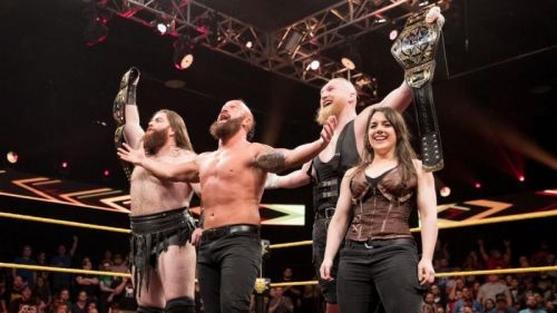 The SAnitY faction was very successful in NXT