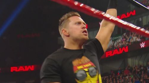 The Miz has now made the move over to Monday Night Raw