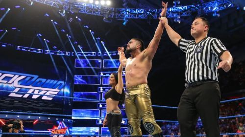 Andrade has paid his dues over the last 12 months