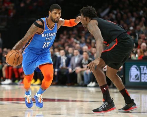 Paul George's shoulder is a legitimate concern for Oklahoma City
