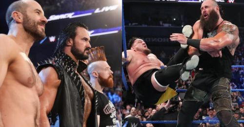 A barrage of surprises hit the fans on the SmackDown after WrestleMania