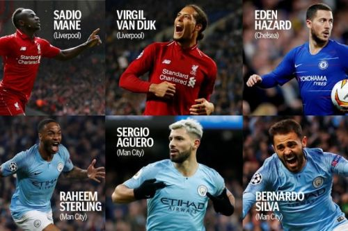 PFA Player of the Year nominees: Who's going to win the prize?