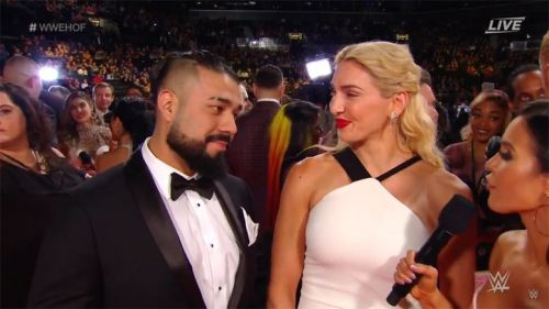 Andrade has competed in one match on the flagship brand