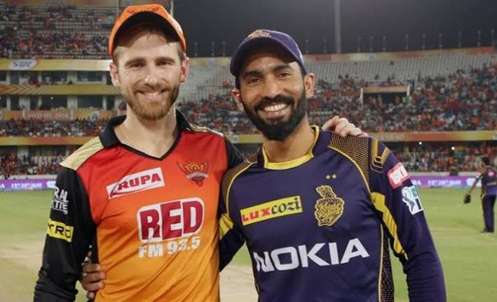 Kane Williamson vs Dinesh Karthik