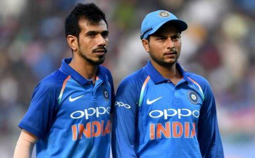Chahal and Kuldeep yadav Duo