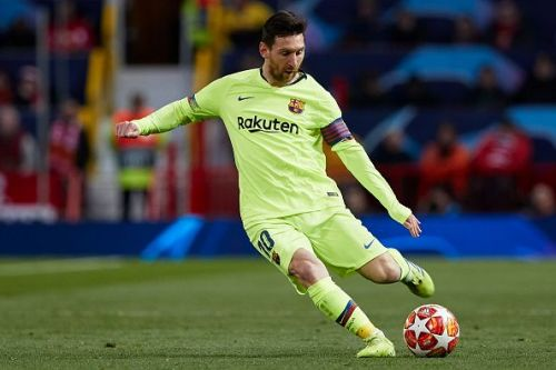 Messi grabbed the assist for the only goal of the game