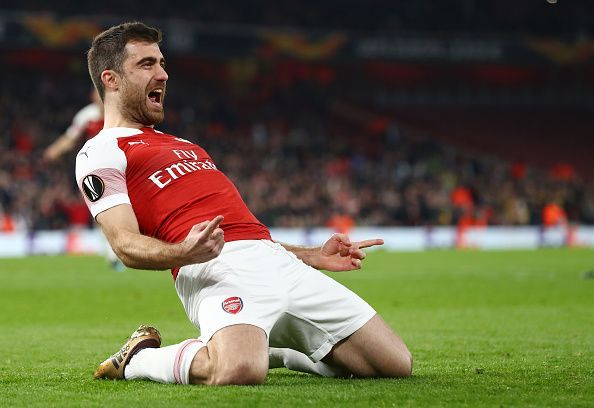 Sokratis has performed beyond expectations for Arsenal