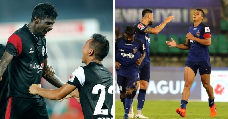Chennaiyin FC faces off NorthEast United FC in the last Quarter-final of the Super Cup