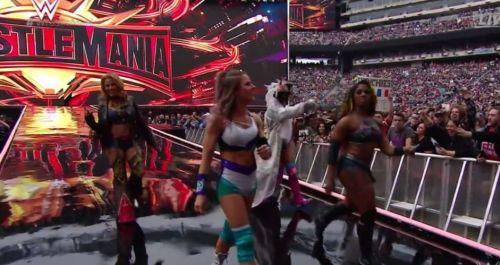 Ember Moon made her return at WrestleMania 35