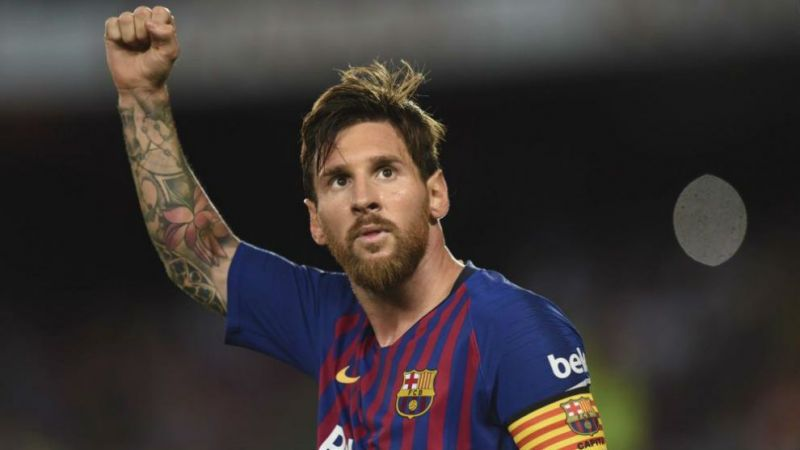 Lionel Messi was at his best against United