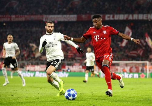 Alaba needs to be at his best as he comes up against a formidable Dortmund attack