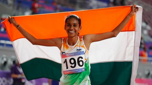 P.U Chitra bags the third gold for India!
