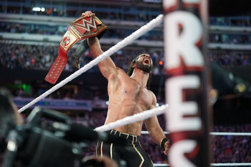 Image result for Seth Rollins Universal Champion