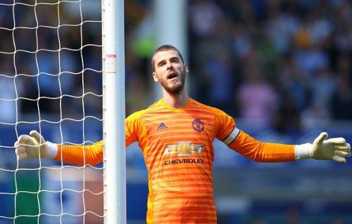 Despite recent struggles, de Gea should remain the man between United's sticks.
