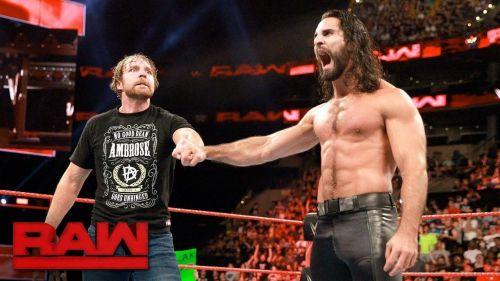 Seth Rollins spoke about Ambrose's departure