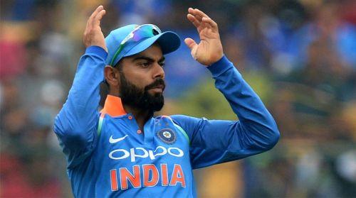 The Indian captain, Virat Kohli