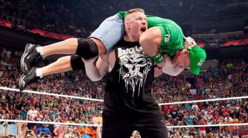 Lesnar's thunderous return!