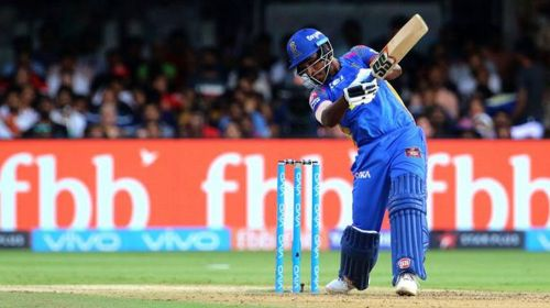Sanju Samson is the leading run scorer in MI vs RR matches played at Wankhede.
