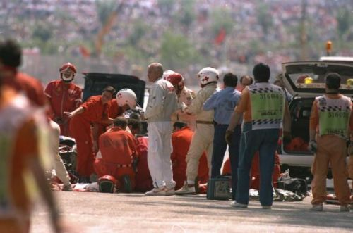 Ayrton Senna's passing was the second driver death in as many days at Imola