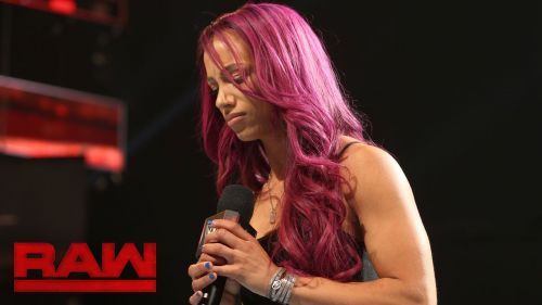 Sasha Banks is very unhappy