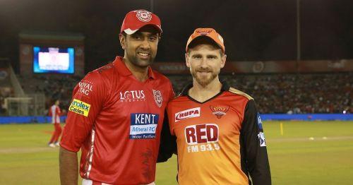 पंजाब और हैदराबाद के कप्तान